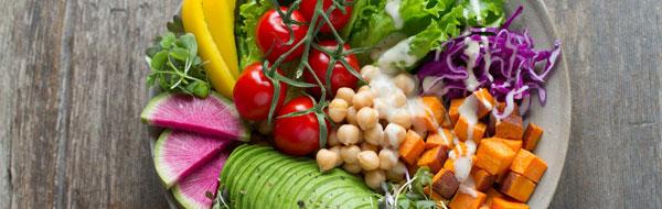 Nutritionist on Framingham MA Vegan Salad Bowl