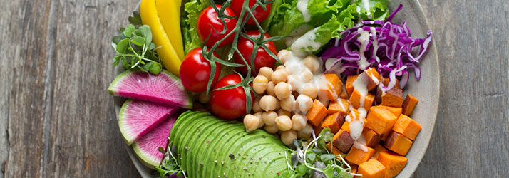 Nutritionist Littleton MA Vegan Salad Bowl